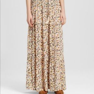 Floral Maxi Skirt M R7